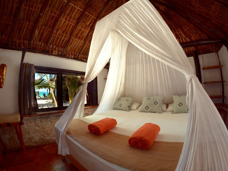 BUNGALOW OCEAN VIEW, KING SIZE BED