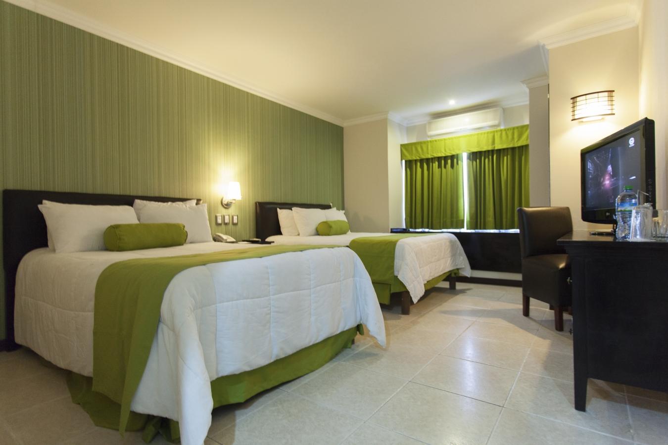 Habitaciones hotel ocean view campeche m xico for Detalles en habitaciones de hotel