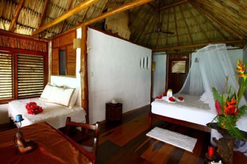 Caba a laguna habitaciones akal ki centro hol stico for Pabellon para cama king size
