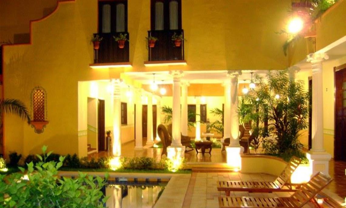 Hotel hotel casa de las columnas m rida mexico - Casas antiguas por dentro ...